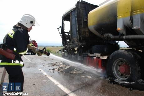 МНС за 40 хвилин ліквідували пожежу поблизу м. Дрогобич